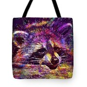 Raccoon Wild Animal Furry Mammal  Tote Bag