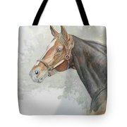 Race Horse Study 1 Tote Bag