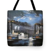 Race On Mississippi, 1860 Tote Bag