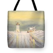 Race Point Lighthouse Provincetown Tote Bag