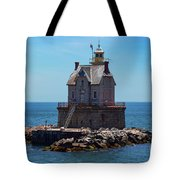 Race Rock Lighthouse Tote Bag