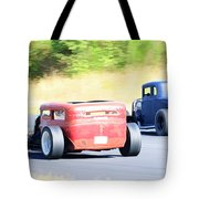 Race Track Relics Tote Bag