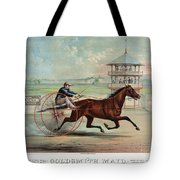 Racehorse: Goldsmith Maid Tote Bag by Granger