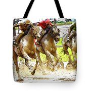 Racetrack Dreams 11 Tote Bag