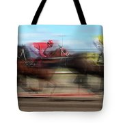 Racetrack Dreams  Tote Bag