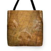 Rachael And The Market Tiles Tote Bag