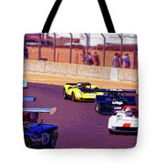 Racing At Laguna Seca Tote Bag
