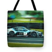Racing Car Tote Bag