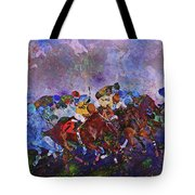 Racing With Ghosts Tote Bag