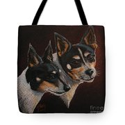 Radar And Ginger Tote Bag