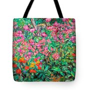 Radford Flower Garden Tote Bag