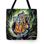 Radhe Krishna Tote Bag