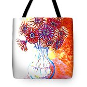 Radiant Array Tote Bag