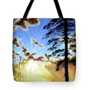 Radiant Reflection Tote Bag by Hanne Lore Koehler