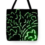 Radiant Trees Abstract  Tote Bag