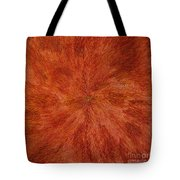 Radiation With Brown Yellow And Voilet Tote Bag