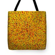 Radiation Yellow  Tote Bag