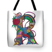 Radical Rooster Tote Bag