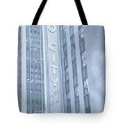 Radio City Cool Toned Tote Bag