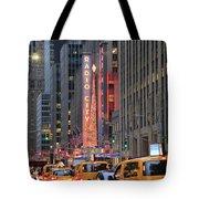 Radio City Music Hall New York Tote Bag