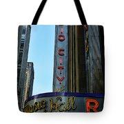 Radio City Music Hall Tote Bag by Paul Ward