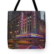 Radio City New York  Tote Bag