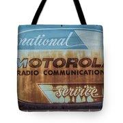 Radio Communications Tote Bag