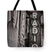 Radio Nashville - Monochrome Tote Bag