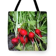 Radish Harvest Tote Bag