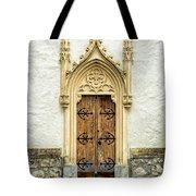 Radovljica Church Door Tote Bag