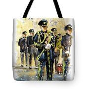 Raf Military Parade In York Tote Bag