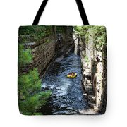 Rafting In A Gorge Tote Bag