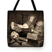 Rag Doll Tote Bag