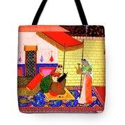Ragamala Painting Tote Bag