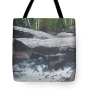 Ragged Falls Tote Bag