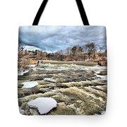 Raging Royal River Tote Bag