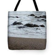 Raging Sea Tote Bag