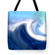 Raging Sea Tote Bag