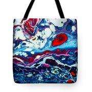 Raging Storm  Tote Bag
