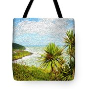 Raglan Coastline Tote Bag