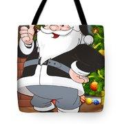 Raiders Santa Claus Tote Bag