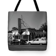 Raifords Disco Memphis A Bw Tote Bag