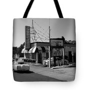 Raifords Disco Memphis B Bw Tote Bag