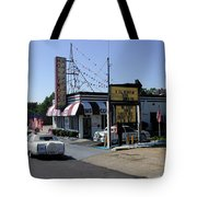 Raifords Disco Memphis B Tote Bag by Mark Czerniec