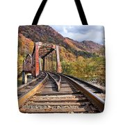 Rail Bridge Tote Bag