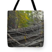 Rail Overgrowth Tote Bag