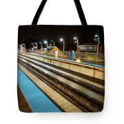 Rail Perspective Tote Bag