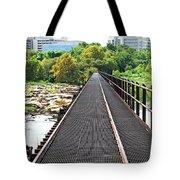 Rail To Richmond Tote Bag
