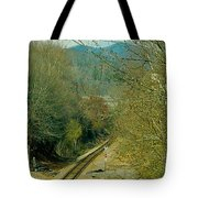 Railroad Adventure Tote Bag