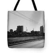 Railroad And The City Tote Bag